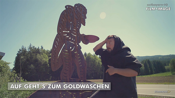 Goldwaschen in Oberviechtach